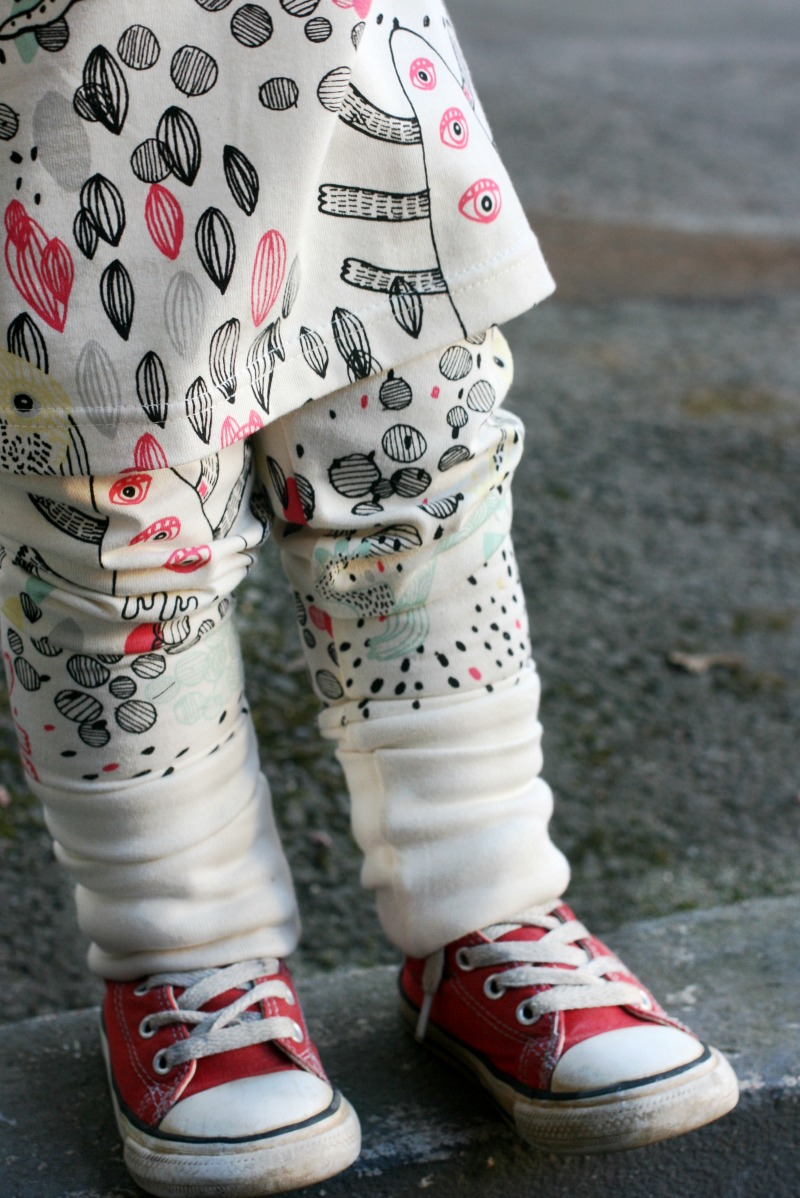 aarrekid monsters leggings converse